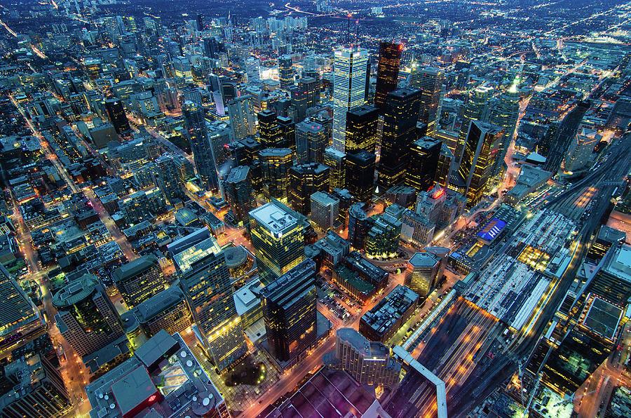Toronto Photograph by Naeem Jaffer