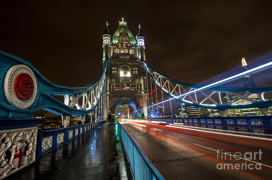 Central London Photograph - Tower Bridge London by Donald Davis