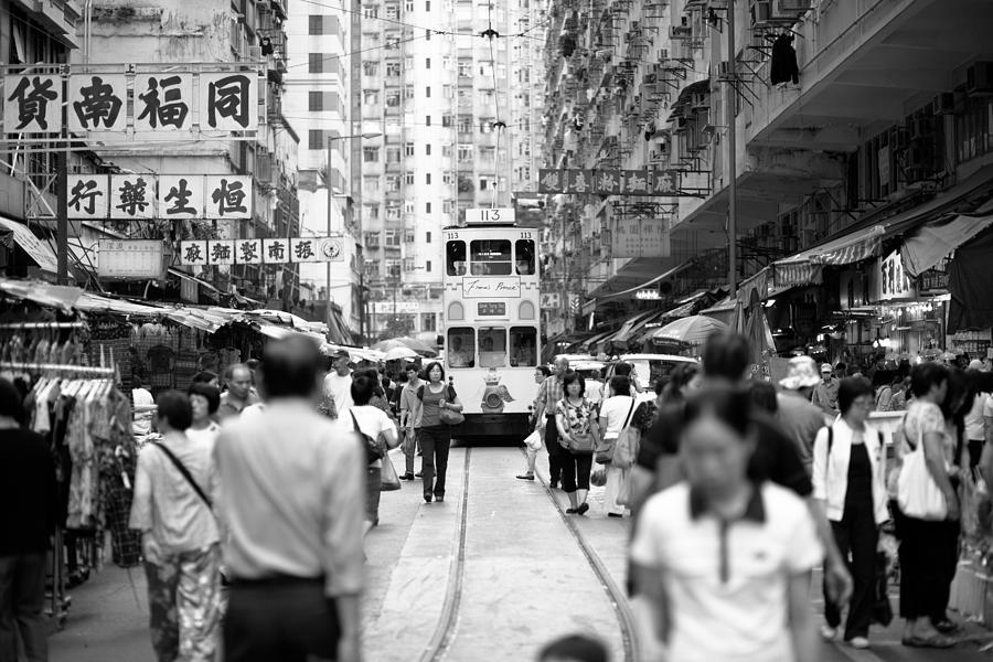 Hongkong Photograph - Tram  by Kam Chuen Dung