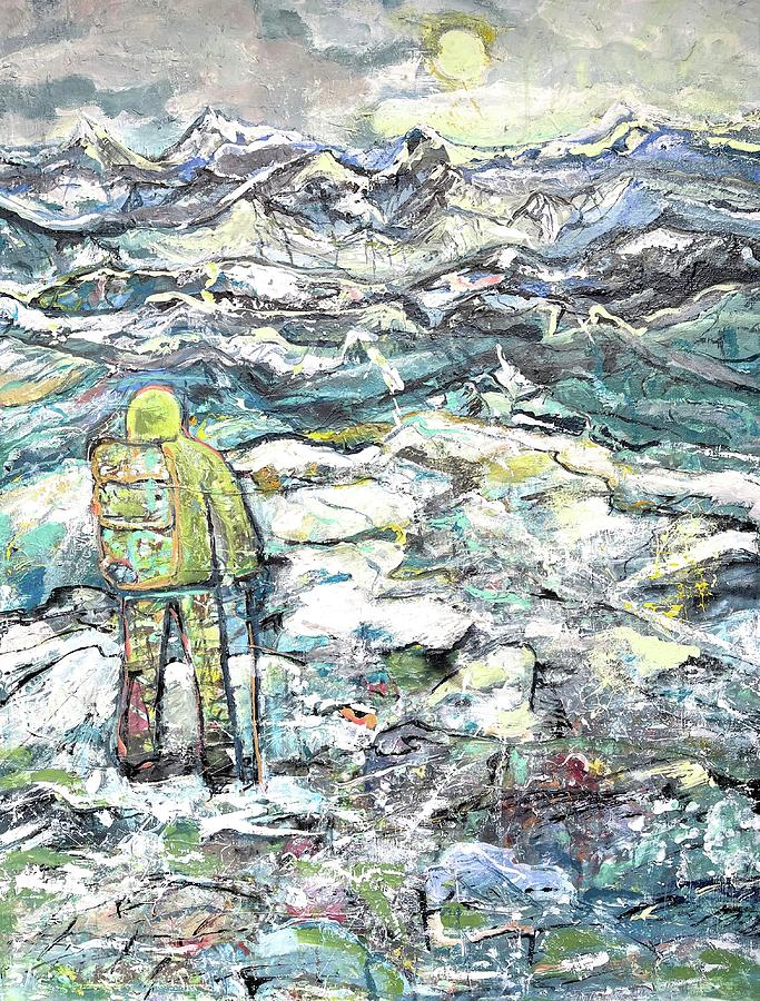 Waterscape Painting - Tranquility by Evelina Popilian