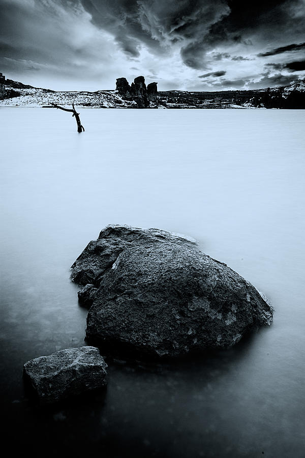 Peace Photograph - Tranquility by Okan YILMAZ