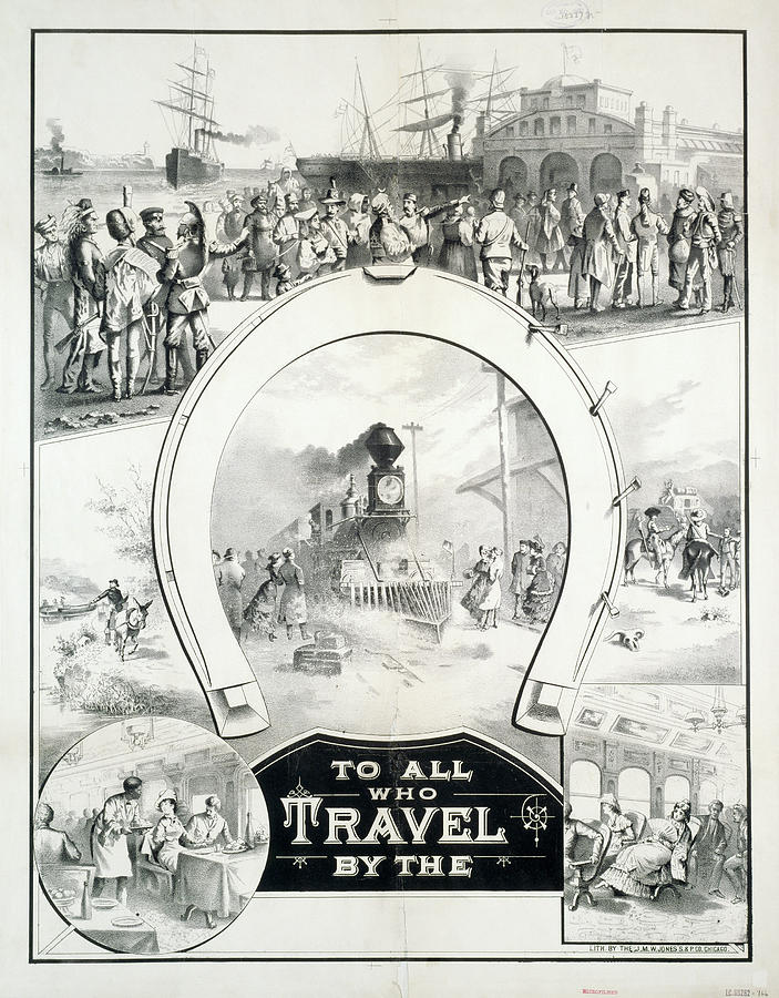 1882 Painting - Travel Poster, C1882 by Granger