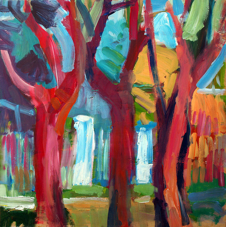 Tree Painting - Tree by Magdalena Mirowicz