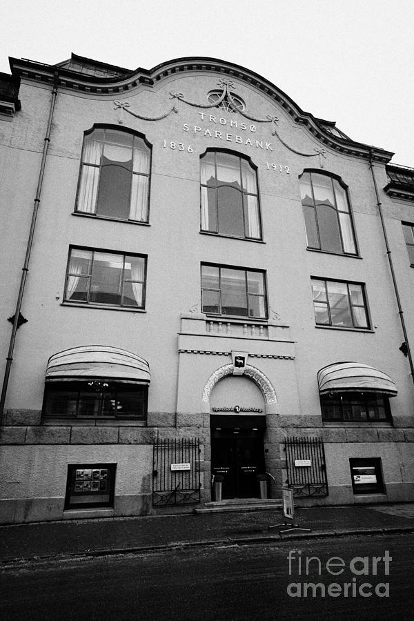 Tromso Photograph   Tromso Sparebank Headquarters Building Troms Norway By  Joe Fox