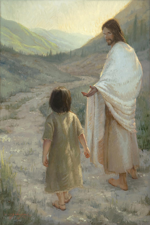 Jesus Painting - Trust in the Lord by James L Johnson