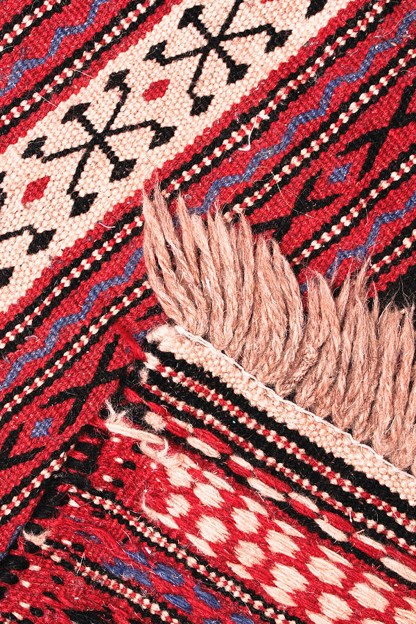 Abstract Photograph - Turkish Rug by Tom Gowanlock