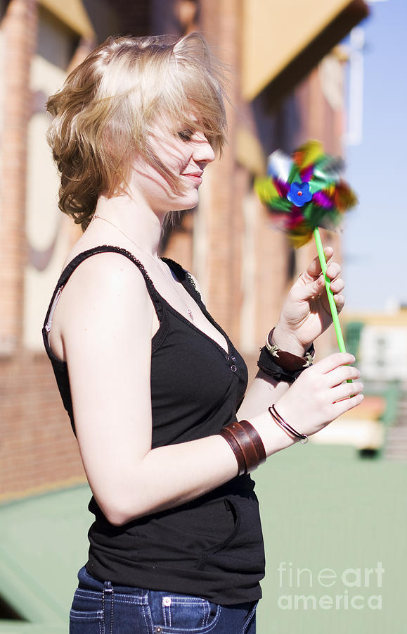 Amusing Photograph - Twirling Toy Turbine by Jorgo Photography - Wall Art Gallery