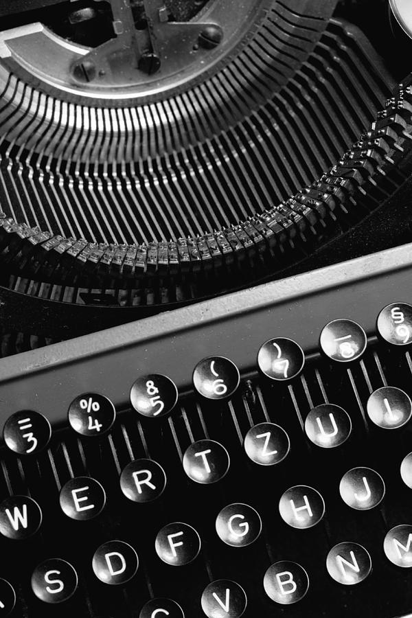 Taste Photograph - Typewriter by Falko Follert