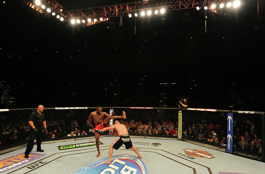 Ufc 172 Jones V Teixeira Photograph by Patrick Smith/zuffa Llc