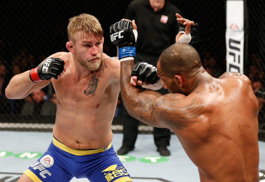 Ufc Fight Night London Gustafsson V Photograph by Josh Hedges/zuffa Llc