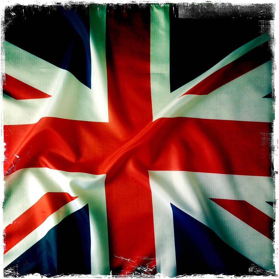 Background Photograph - Union Jack by Les Cunliffe