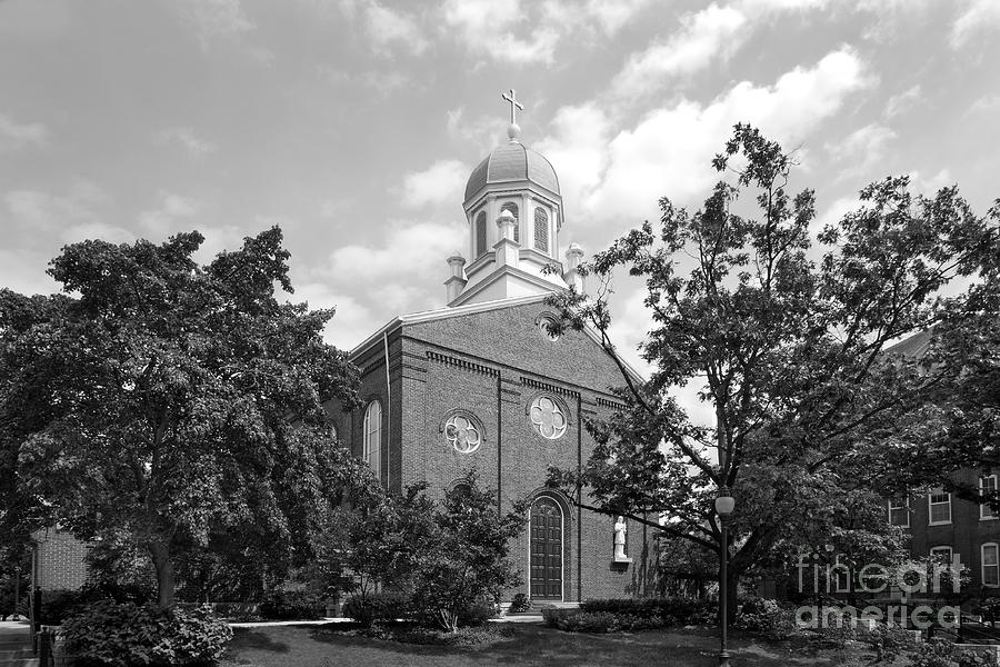 Dayton Photograph - University Of Dayton Chapel by University Icons