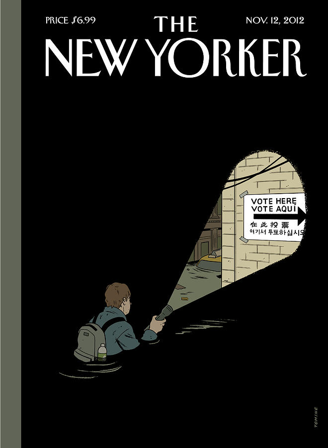 Undeterred Painting by Adrian Tomine