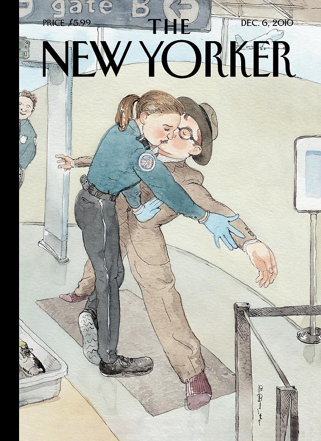 New Yorker December 6th, 2010 Painting by Barry Blitt