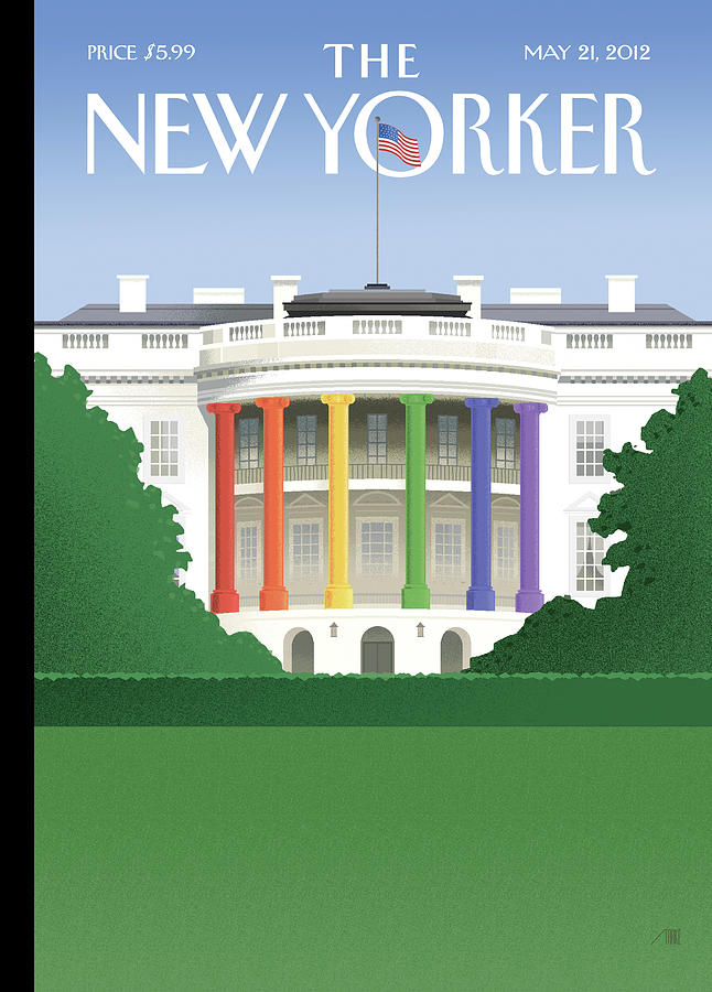 New Yorker May 21st, 2012 Painting by Bob Staake
