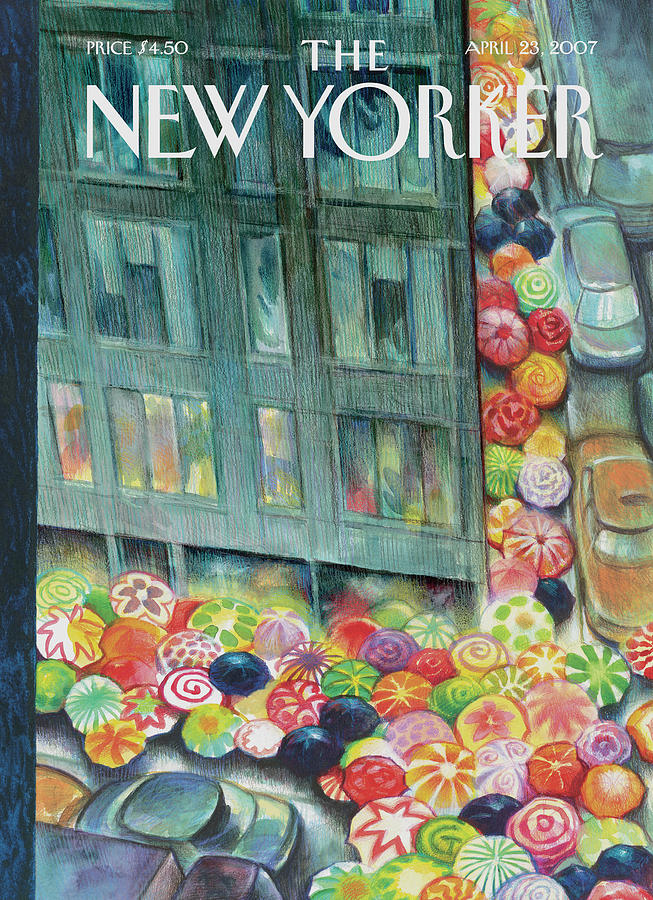 New Yorker April 23rd, 2007 Painting by Carter Goodrich