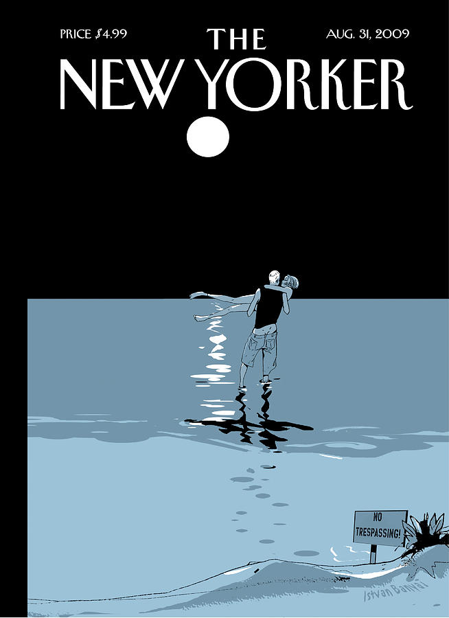 New Yorker August 31st, 2009 Painting by Istvan Banyai