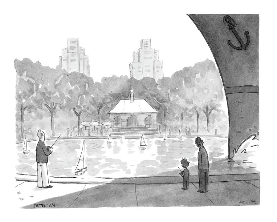 New Yorker April 25th, 2005 Drawing by Jason Patterson