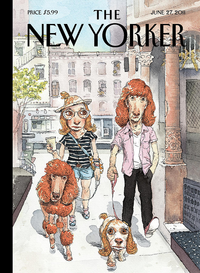 New Yorker June 27th, 2011 Painting by John Cuneo