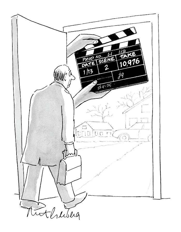 New Yorker November 28th, 2005 Drawing by Mort Gerberg