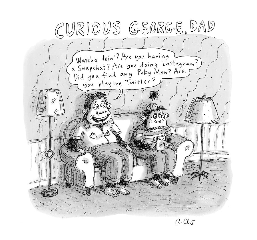 New Yorker January 2nd, 2017 Drawing by Roz Chast