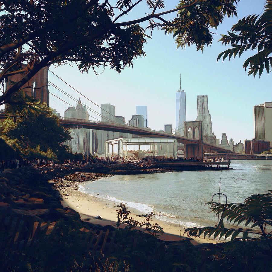 Upon the Brooklyn Shore by Natasha Marco