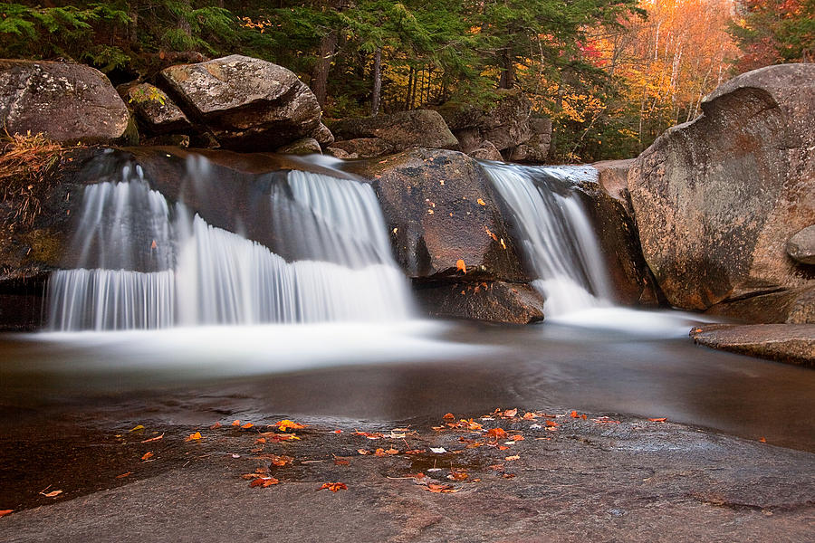Maine Photograph - Upper Screw Auger Falls by Patrick Downey