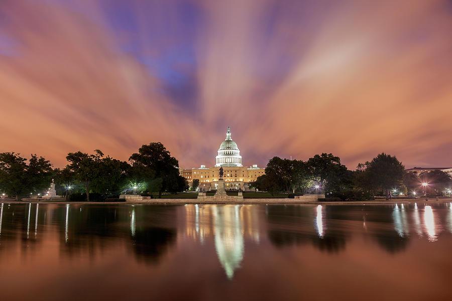 Usa, Columbia, Washington Dc, Capitol Photograph by Tetra Images - Henryk Sadura
