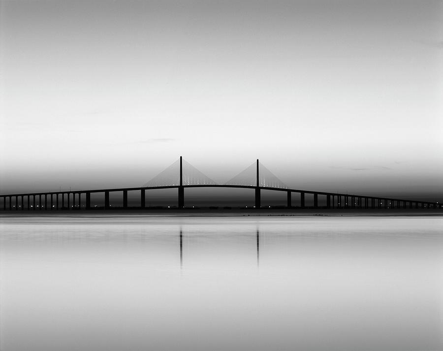 Adam Jones Photograph - USA, Florida, Sunshine Skyway Bridge by Adam Jones