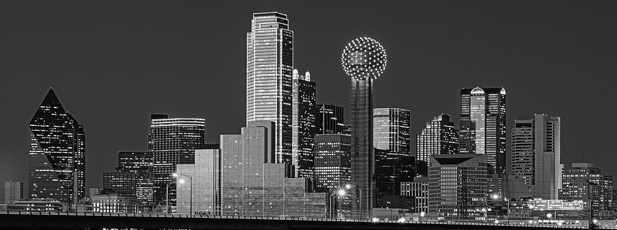 Horizontal Photograph - Usa, Texas, Dallas, Panoramic View by Panoramic Images