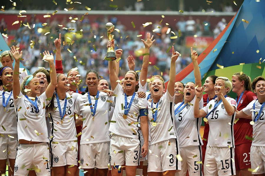 Usa V Japan Final - Fifa Womens World Photograph by Rich Lam