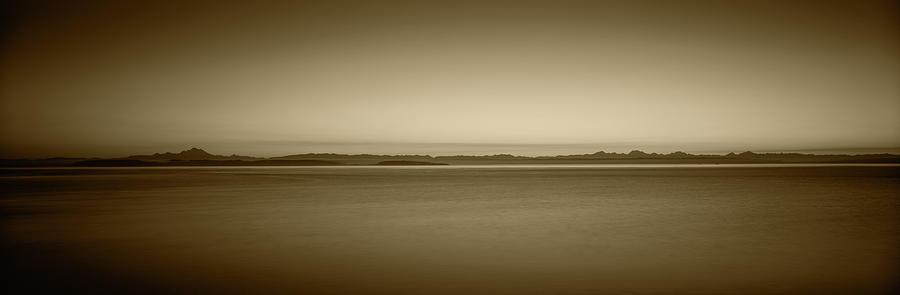 Blue Photograph - Usa, Washington, Juan De Fuca Strait by Walter Bibikow