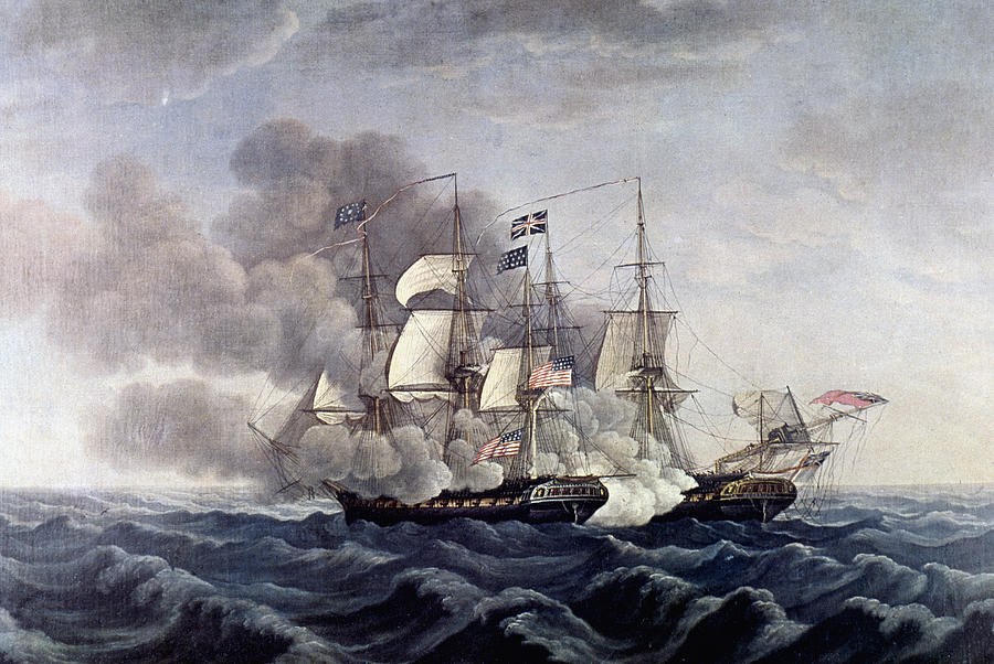 Uss Constitution 1812 Painting by GrangerUss Constitution 1812