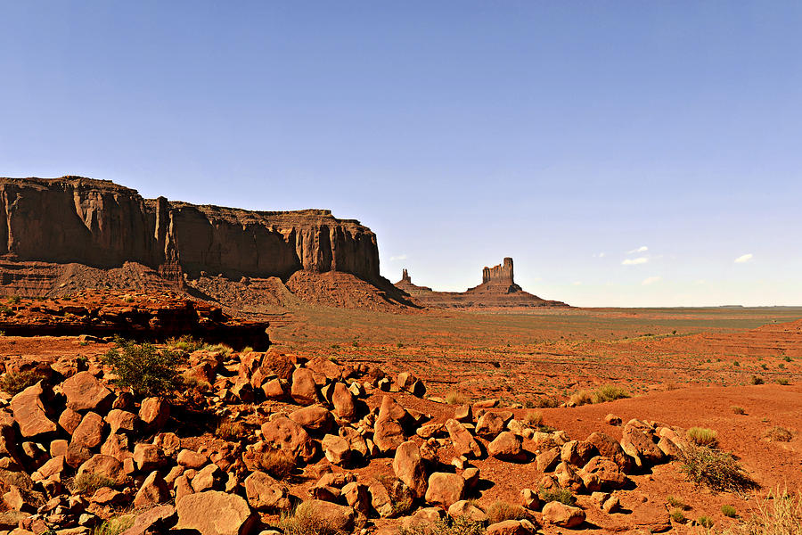 Monument Photograph - Utahs Iconic Monument Valley by Christine Till