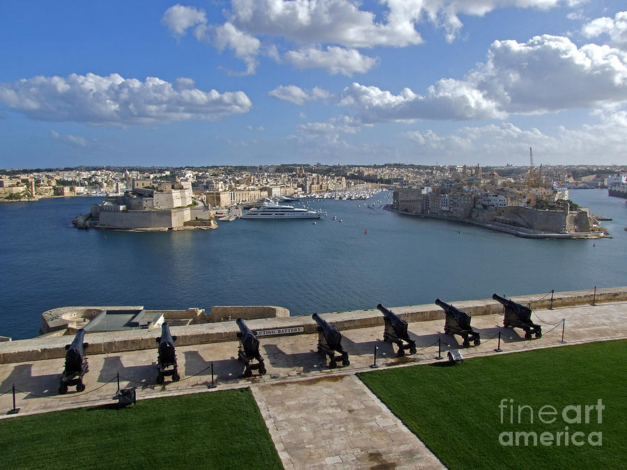 Valletta Grand Harbour by Mary Attard