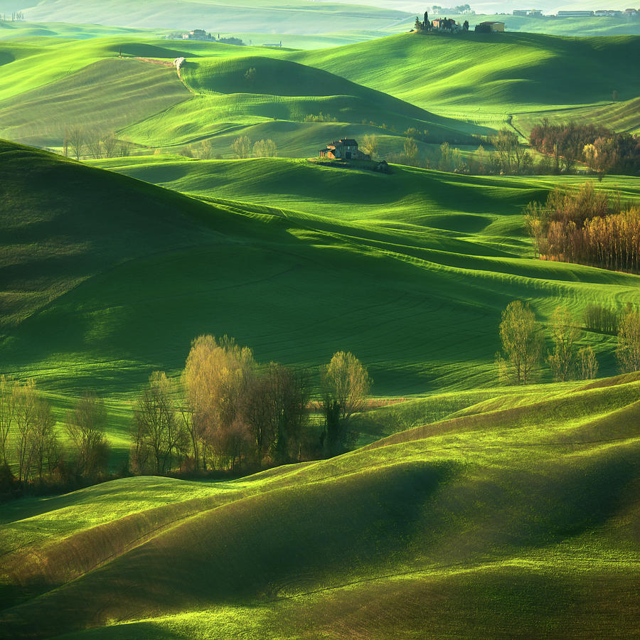 Landscape Photograph - Valley... by Krzysztof Browko