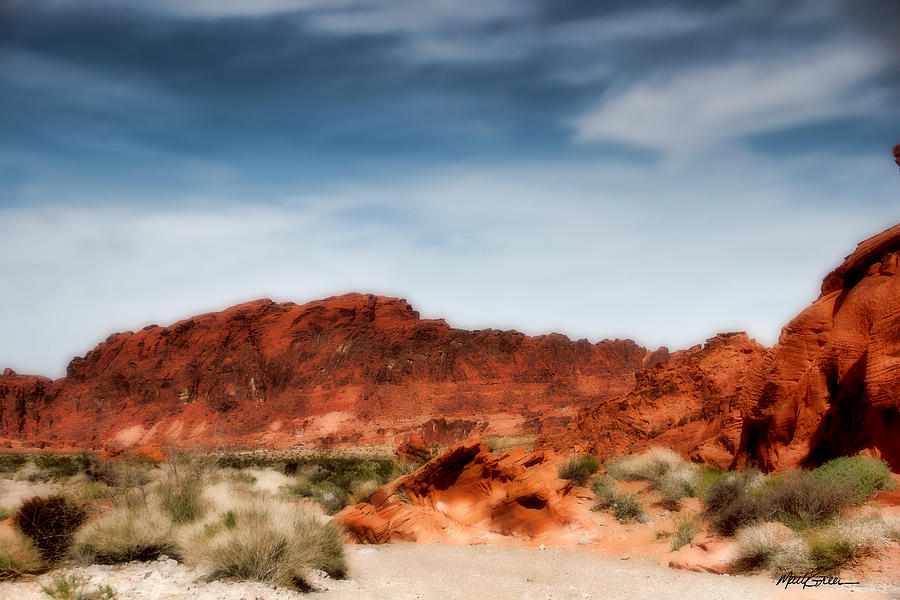 Valley Of Fire Photograph - Valley Of Fire by Marti Green