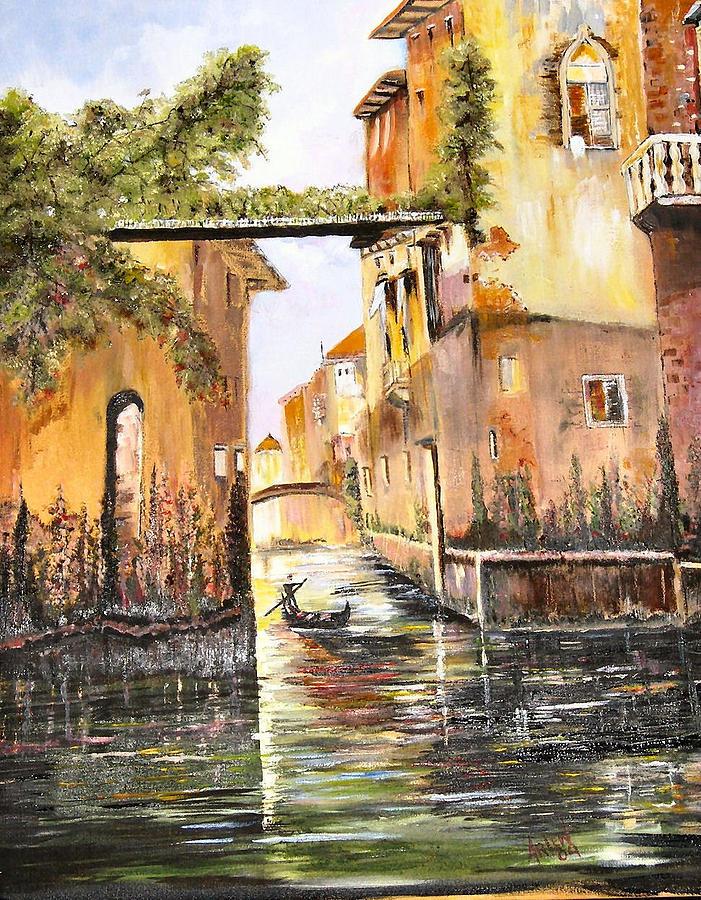 Venice- Italy by Arlen Avernian - Thorensen
