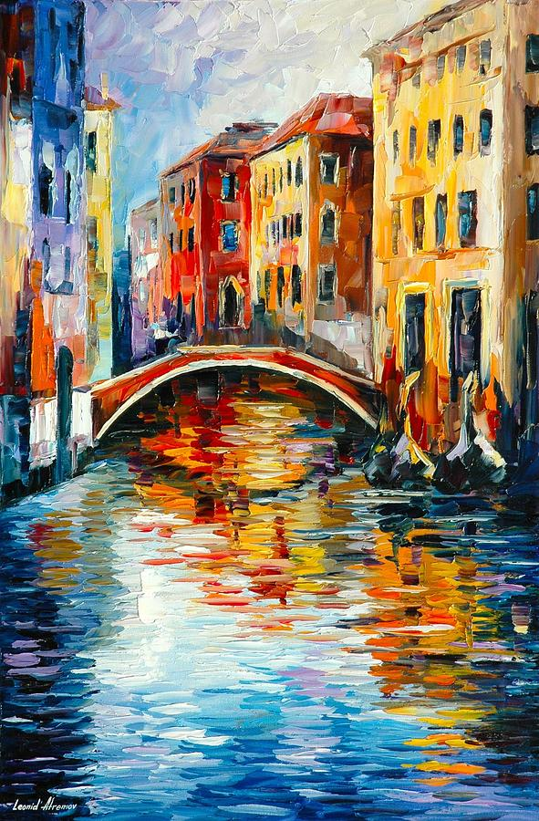 Venice Painting By Leonid Afremov