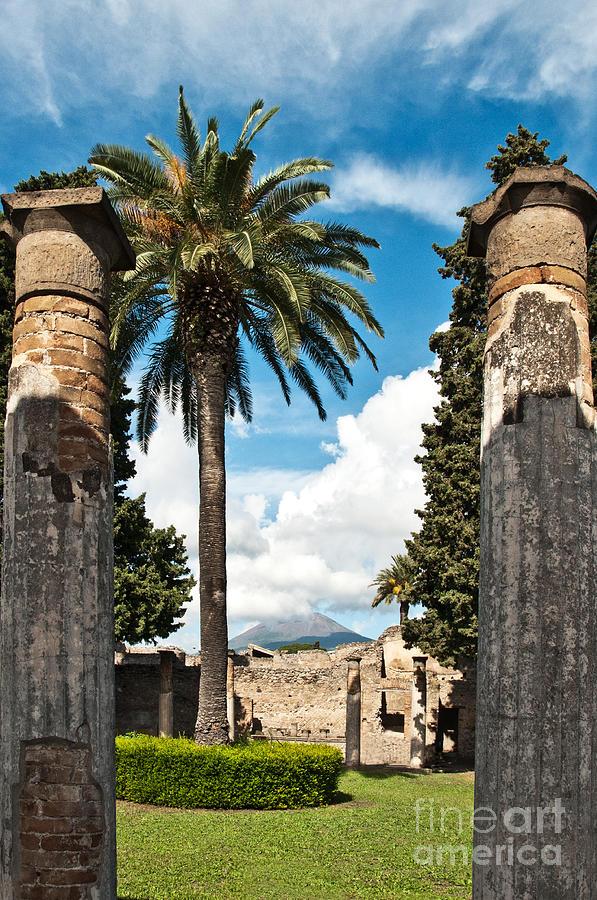 Pompeii Photograph - Vesuvius by Marion Galt
