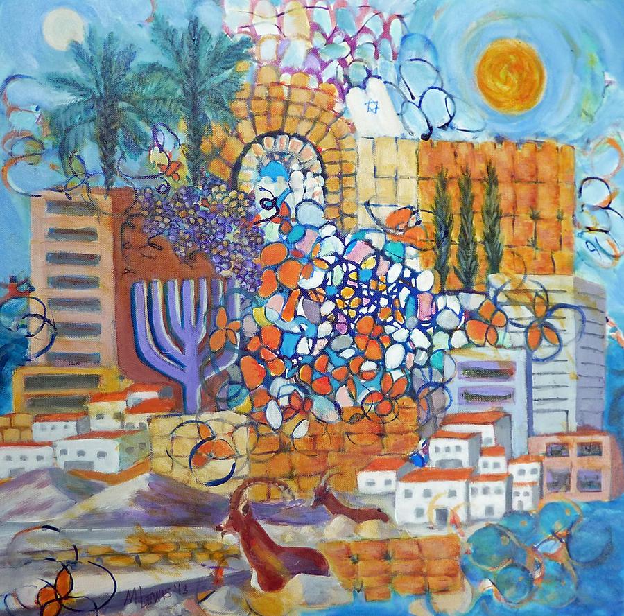 Vibrant Israel by Melanie Lewis