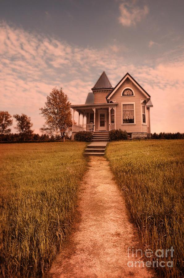 House Photograph - Victorian House by Jill Battaglia