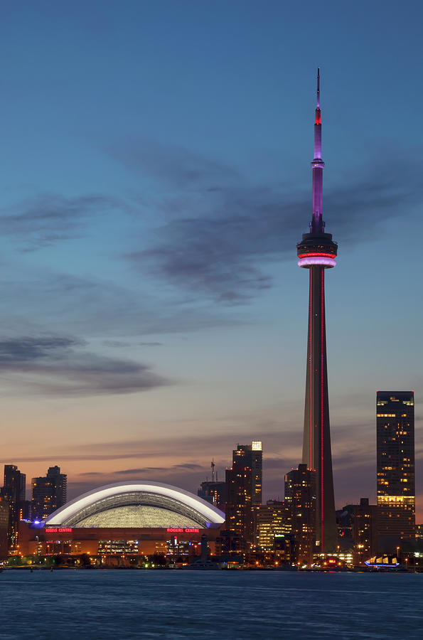 View Over Lake Ontario Of The Downtown Photograph by Mark Thomas / Design Pics