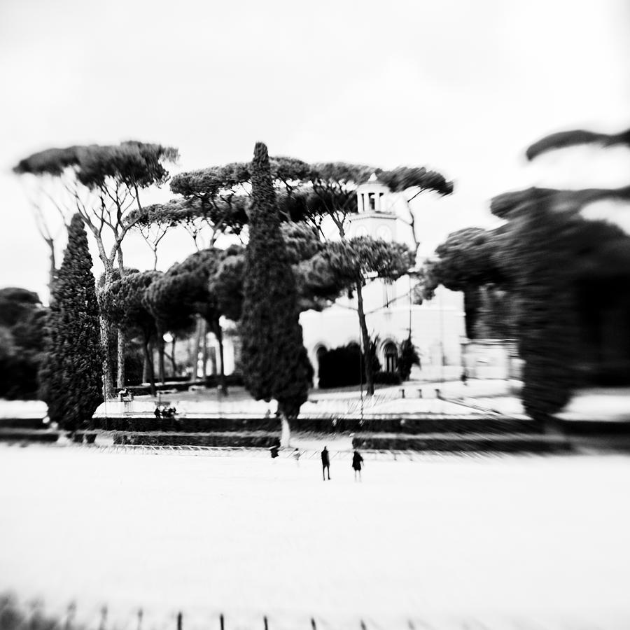 Villa Borghese Photograph - Villa Borghese by Eugenia Kirikova