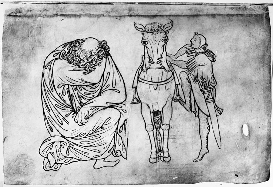 13th Century Drawing - Villard De Honnecourt (fl by Granger