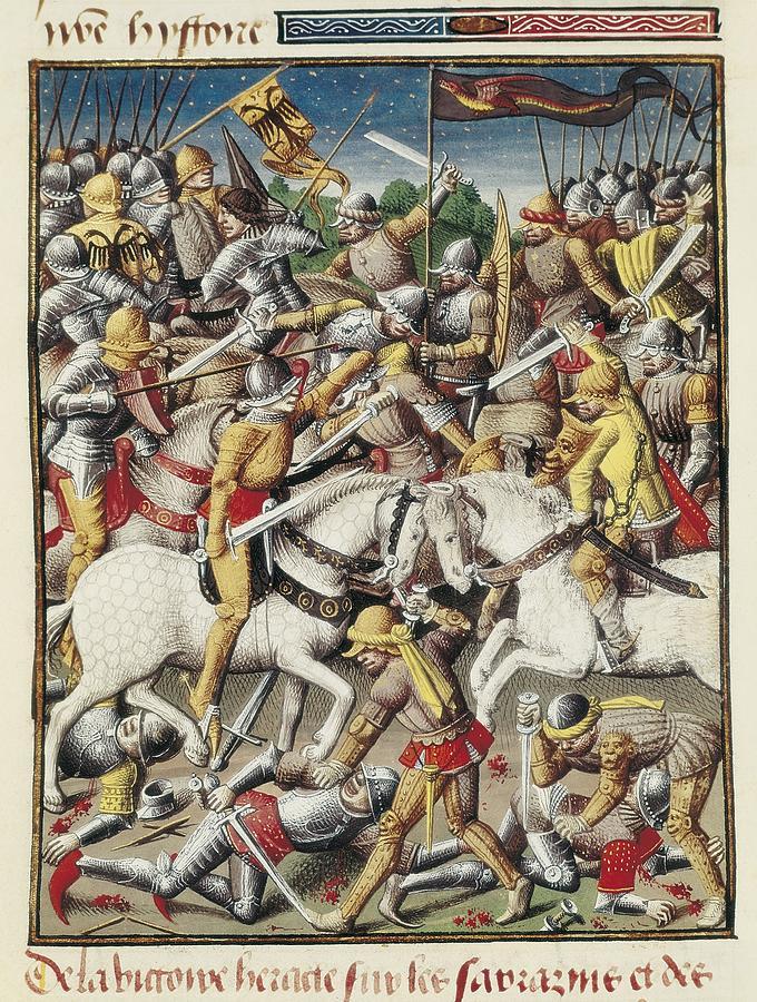 Vertical Photograph - Vincent Of Beauvais 1190-1264. Speculum by Everett