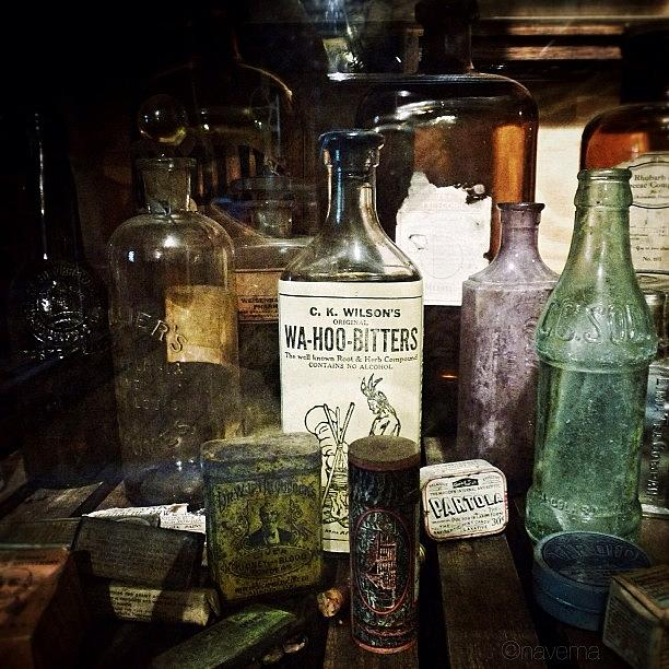 Antique Photograph - Vintage Apothecary by Natasha Marco