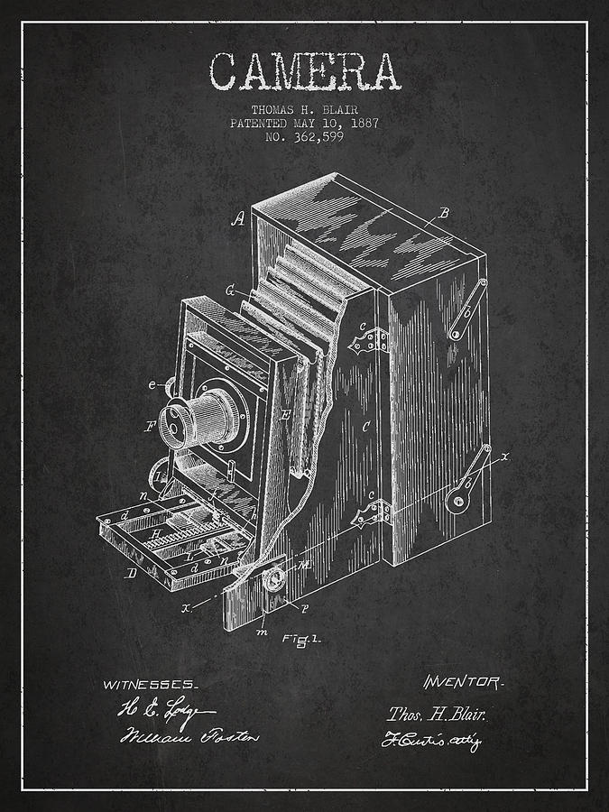 Vintage camera patent drawing from 1887 digital art by aged pixel camera digital art vintage camera patent drawing from 1887 by aged pixel malvernweather Image collections