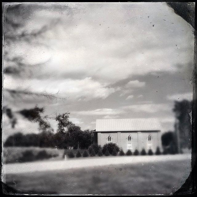 Hipstamatic Photograph - Vintage Heartland by Natasha Marco