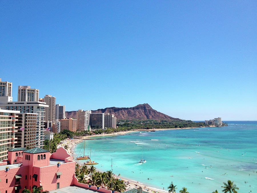 Waikiki Beach Photograph by M Swiet Productions